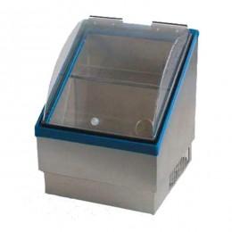 Vetrinetta refrigerata da banco con temperatura negativa per bevande alcoliche