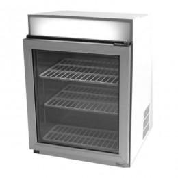 Vetrina refrigerata con temperatura positiva per raffreddare bibite e latticini