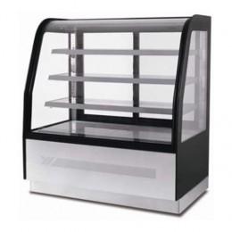 Vetrina refrigerata con vetri diagonali 900x750x1350 h mm