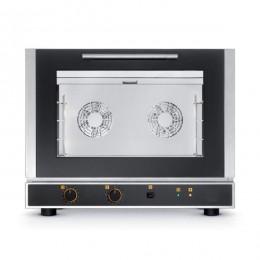 Forno Elettrico a Convenzione con Umidificazione 4 Teglie 60x40cm
