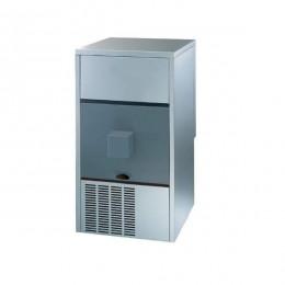 Produttore Dispenser di Ghiaccio con Sistema a Spruzzo Capacità fino a 48 Kg