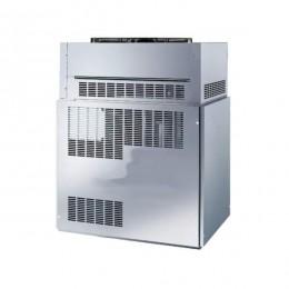 Produttore Fabbricatore di Ghiaccio Capacità 2450 Kg Cubetti a Scaglie Sottoraffreddati