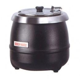 Zuppiera elettrica colore nero capacità 10 lt 350 x 350 x 380 h mm