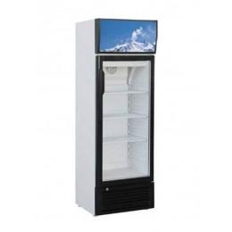Vetrina frigo bibite espositore refrigerato professionale  statica capacità 171 lt