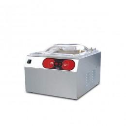 Confezionatrice sottovuoto a campana in acciaio inox barra saldante 400 mm