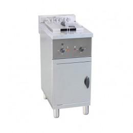 Friggitrice Elettrica professionale per Pub Bar Ristoranti Monoblocco su Mobile Capacità Olio 25 Lt