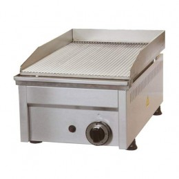 Fry Top a Gas piastra rigata 330x450x275h mm