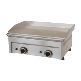 Fry Top a Gas piastra liscia 600x450x275h mm