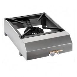 Fornellone in acciaio inox a gas  7,5 Kw per uso esterno