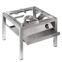 Fornellone in acciaio inox a gas 14 Kw per Interno e esterno