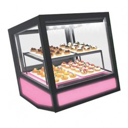 Vetrina refrigerata ventilata Con Led Bianco 620x670x670