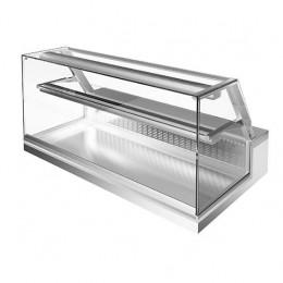 Vetrina refrigerata statica d'appoggio 1500x700x470h mm