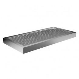 Vasca refrigerata statica da incasso 1460x380x100h mm