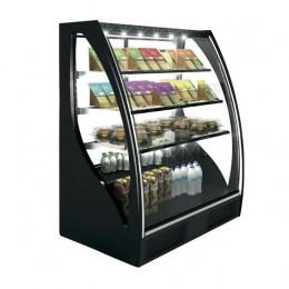 Vetrina Refrigerata Klassen vetri Curvi  con apertura Frontale/Posteriore 1015x620x1240h +4°/+8°C