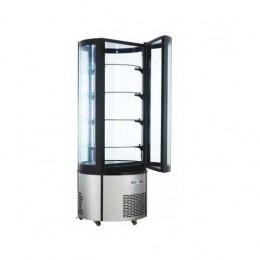 Vetrina refrigerata 4 ripiani 680x680x1750h mm