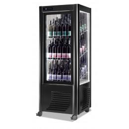 Cantina vini ventilata capacità 72 bottiglie esposizione su tre lati