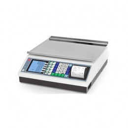 Bilancia con scontrino display basso - 4 operatori 15/30 kg - Divisione 5/10 g