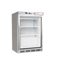 Armadio Congelatore inox Evaporatore a Ripiani 130 lt