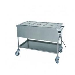 Carrello termico a secco 2x1/1 GN 200h 840x650x850h mm