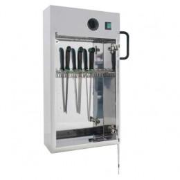 Sterilizzatori per coltelli a raggi uv in acciaio inox 400x130x670h mm