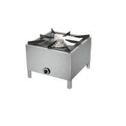 Fornelloni a gas in in acciaio inox 605x605x460h mm