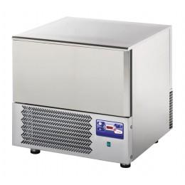 Abbattitore surgelatore di temperatura professionale 3 Teglie GN 1/1