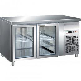 Tavolo refrigerato gastronomia GN1/1 ventilato motore incorporato 1360x700x850 mm