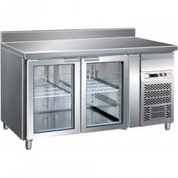 Tavolo refrigerato gastronomia GN1/1 ventilato motore incorporato alzatina 1360x700x850/950 mm
