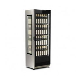 Vetrina verticale vino ventilata capacità 376 lt  con illuminazione a LED +5°/+15° C
