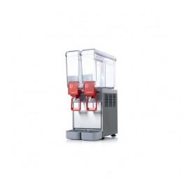Erogatore da banco per bevande 2 contenitori capacità 8 lt
